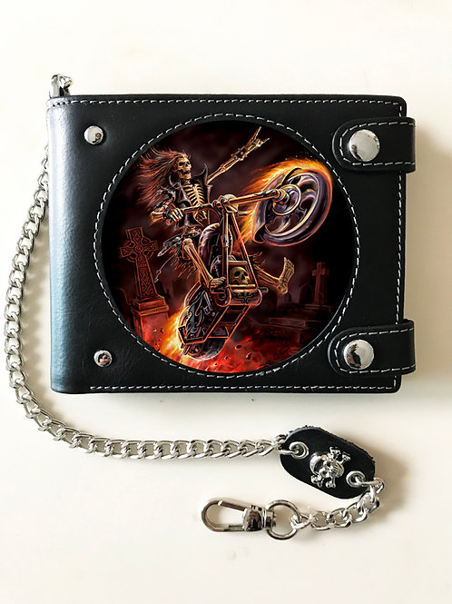 Anne Stokes Hell Rider Wallet - 3D Lenticular