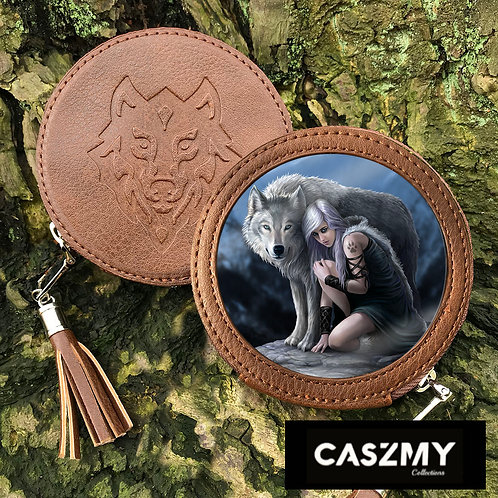 Protector - Wolf Round Coin Purse