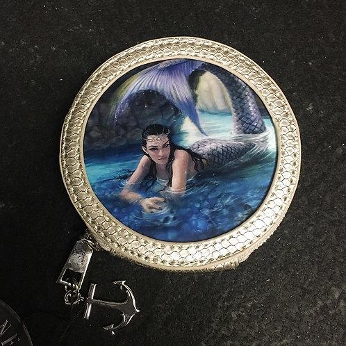 Hidden Depths Silver Coin Purse - 3D Lenticular