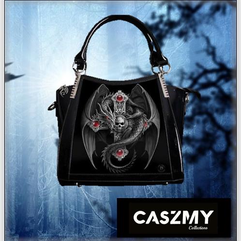 Gothic Guardian 3D Lenticular Handbag