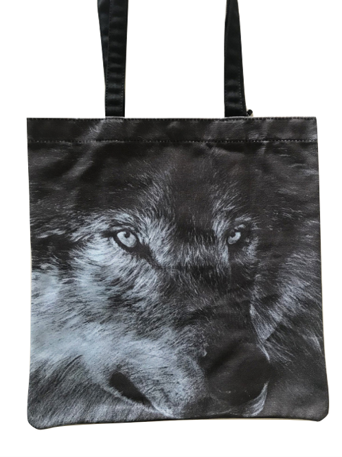 'Dark Wolf' Tote Bag