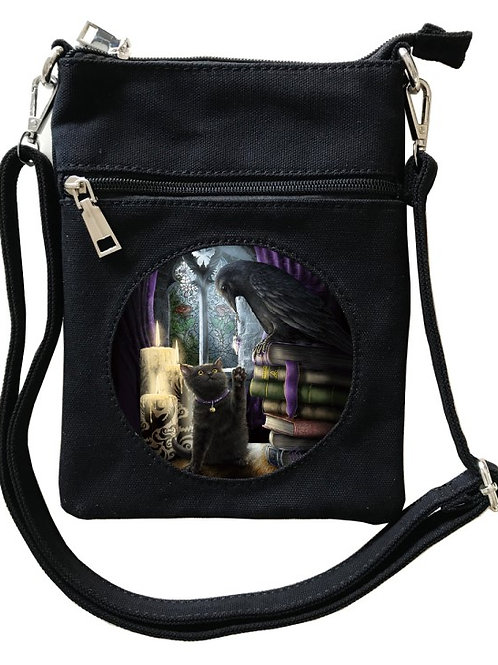 Familairity Cross-Over Bag - SheBlackDragon 3D Lenticular