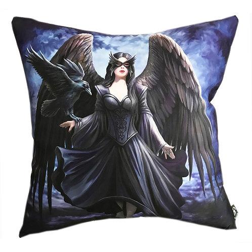 Anne Stokes 'Raven' Cushion