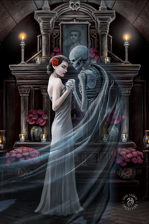 Anne Stokes 'Forever Yours' Postcard 3D Lenticular