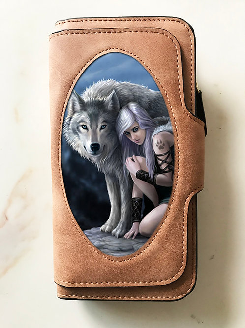 Anne Stokes The Protector Purse - 3D Lenticular