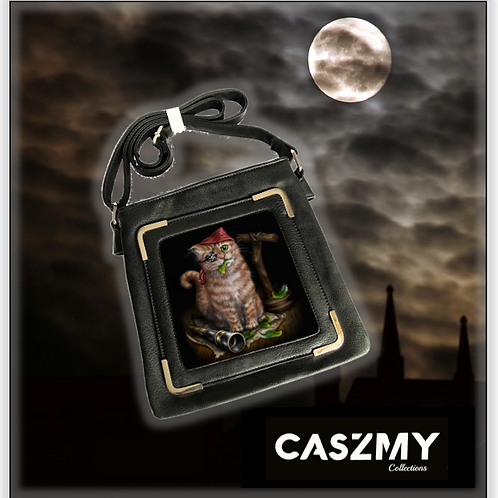 Pirate Kitten - 3D Lenticular Side Bag