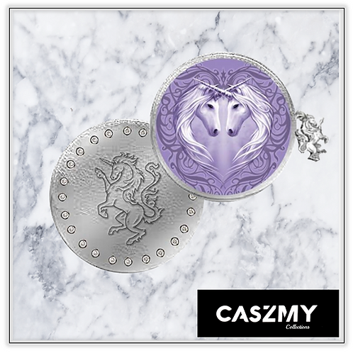 Unicorn Heart - Unicorn Round Coin Purse
