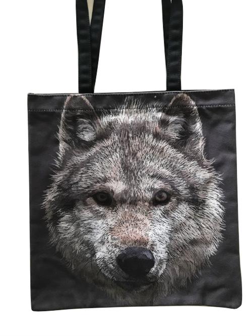 'Wolf Stare' Tote Bag
