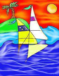 'hoist 'em'_St. Simons Artist Katy Boyer