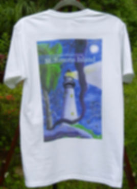 Original St. Simons Island Lighthouse tshirt