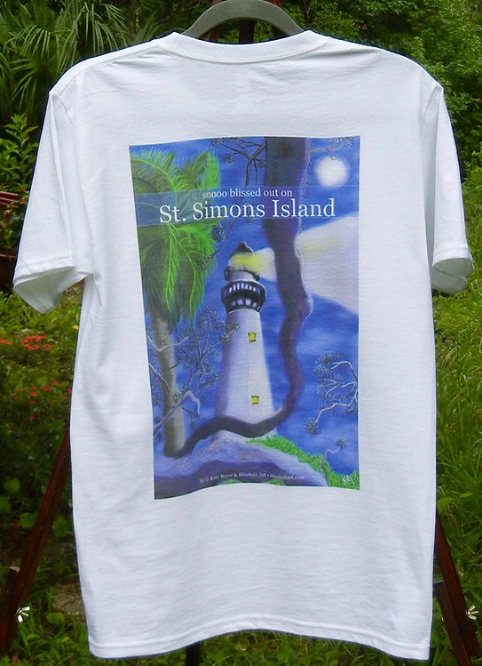 Original St. Simons Island Lighthouse tshirt