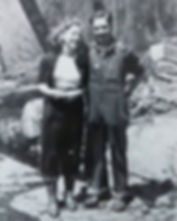 Picture of Merlin Kerr and his wife.