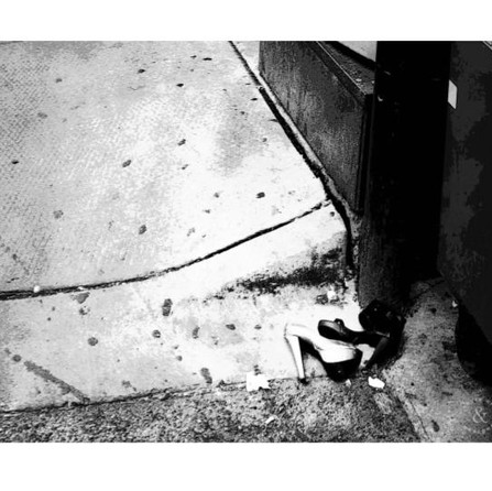 i noticed you in an alley