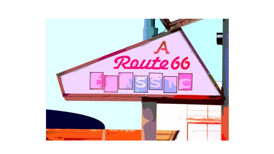 coloring route 66
