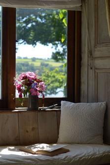 Bedroom reading seat