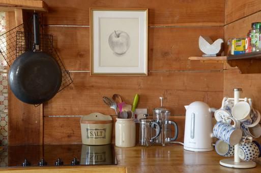 Tea and coffee corner