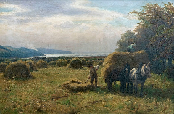 Larksong cover image 'The Corn Cart' by D. Farquharson