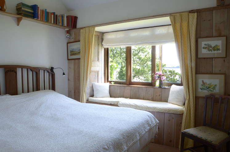 The bedroom with superking bed