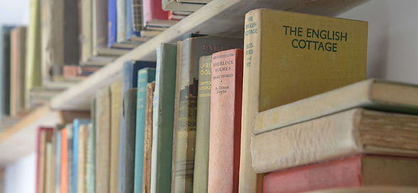 The English Cottage book at the Count House in Devon