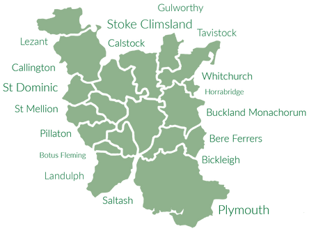 Map of Parish Deliveries