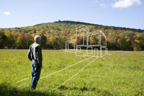 Как оформить участок земли под строительство