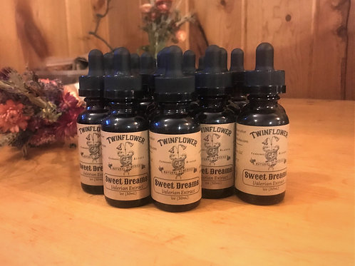 Sweet Dreams Valerian Tincture ~ for sleep and anxiety support