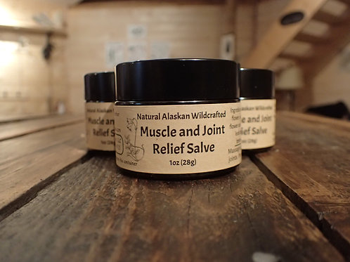 Muscle and Joint Relief Salve~ for pain and inflammation