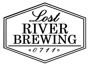 Lost River Brewing Logo diamond huge white transparent.png