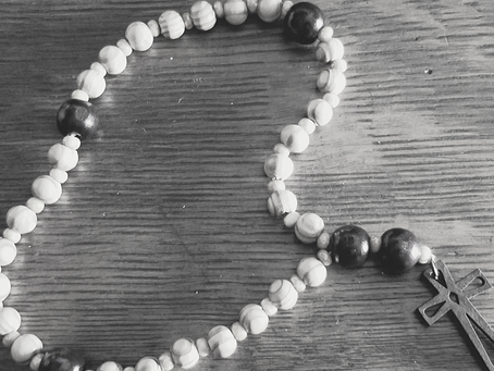 Rosary Prayer for time of fear and anxiety.