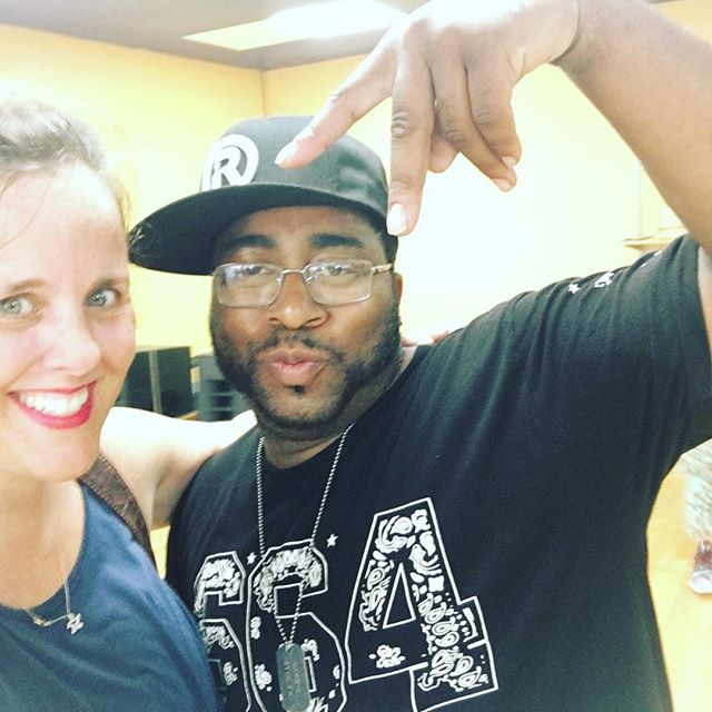 post hip-hop class with Darkie from Culture Shock