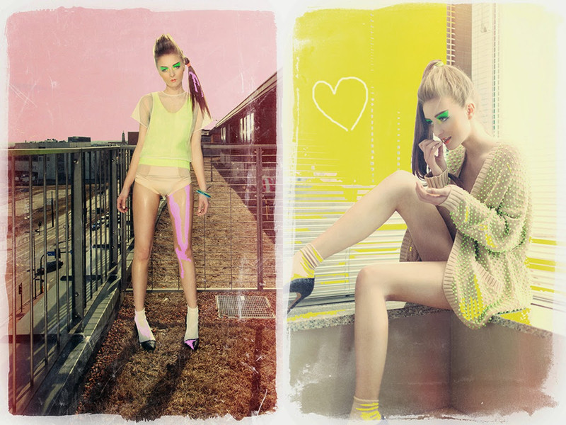 Colours of Fashion | Editorial for Grunge Cake Magazine