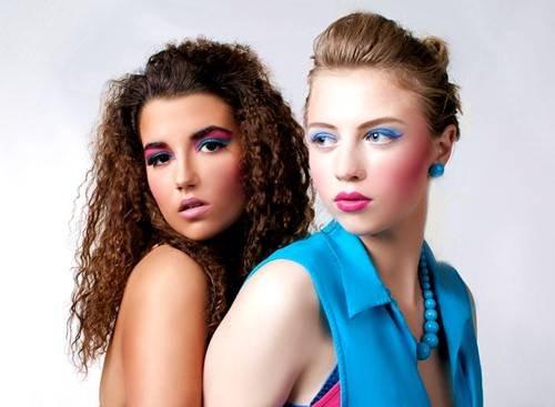 photo: Piotr Poznański  model: Beata Gorzula, Monika Myśliwiec  make up & style: Sonia Zieleniewska