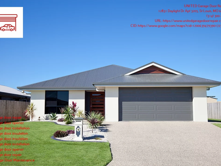 Garage Door Insulation in St. Louis, MO - A Great Solution for Homeowners