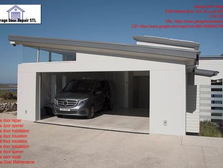 Useful Guide: Garage Door Installation in St. Louis, Missouri