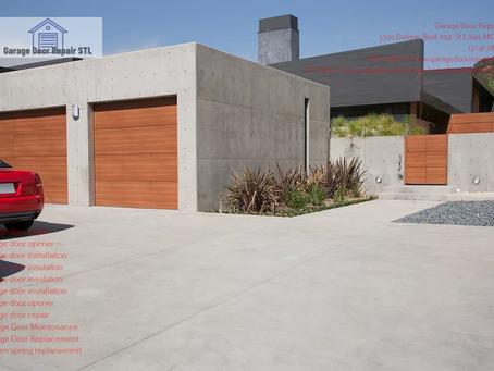 Energy-efficient Garage Door in St. Louis, MO