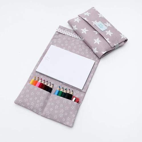 Cahier de dessin & crayons - Tiny Magic