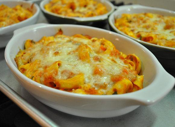 Tortellini sauce à la gigi gratiné