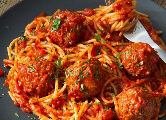 Spaghetti boulette a l'italienne