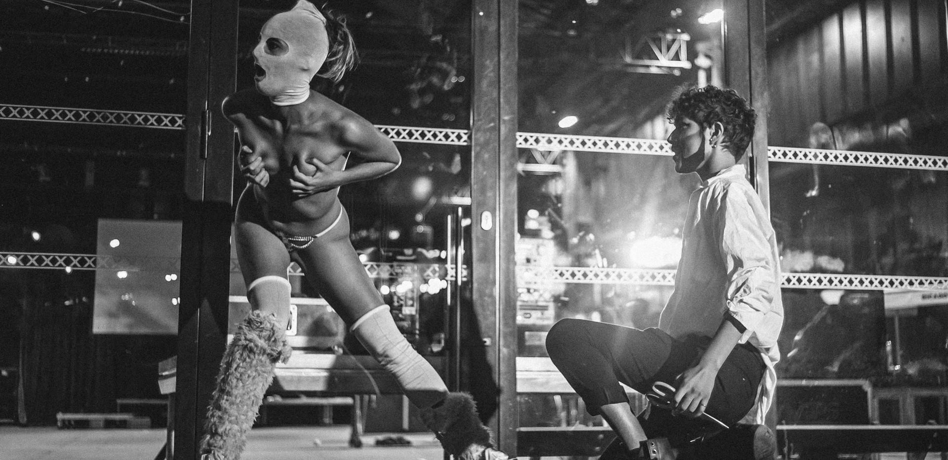 """Sin eden & yax Ferri au Heat pour """"Les filles du bar"""""""