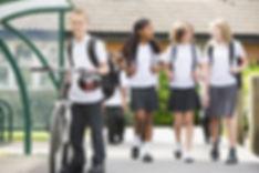 Children Leaving School For The Day.jpg