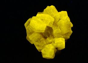 Apatite var. Fluorapatite crystal cluster with quartz - Pakistan