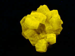 Apatite var. Fluorapatite crystal cluster with quartz - Pakistan
