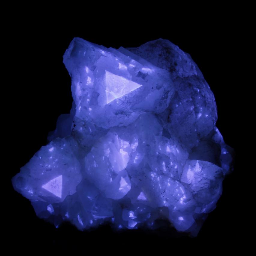 Terlingua Calcite - Short Wave UV