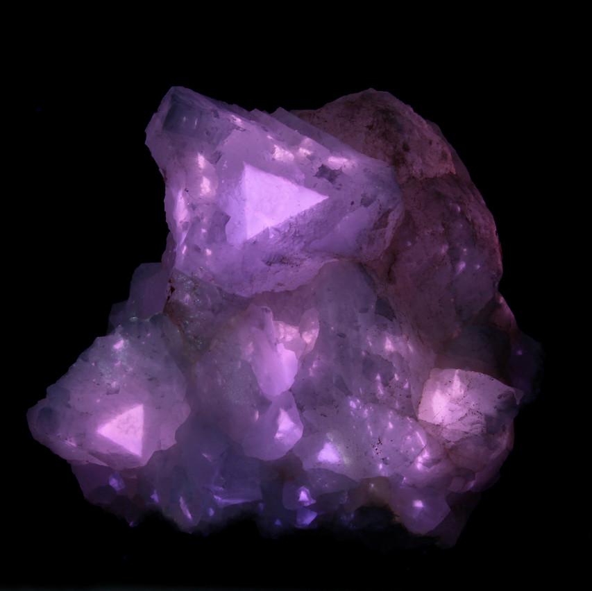 Terlingua Calcite - Long Wave UV