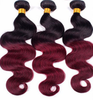Ombre/Burgundy  Body Wave