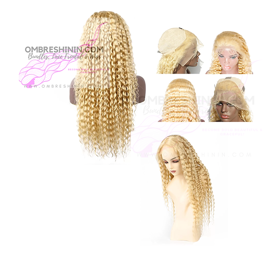 613 Deep Wave Lace Frontal Wig