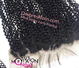 Virgin Kinky Curl Frontal