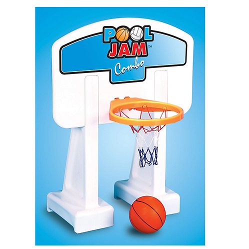 Swimline Pool Jam Combo, Pool Volleyball and Pool Basketball Game Combo