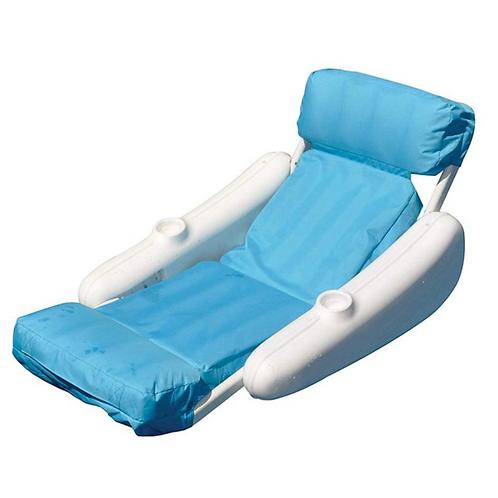 Swimline SunSoft Sunchaser Luxury Floating Pool Lounger