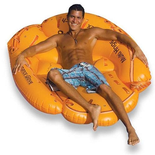 Swimline Baseball Glove Island Inflatable Raft